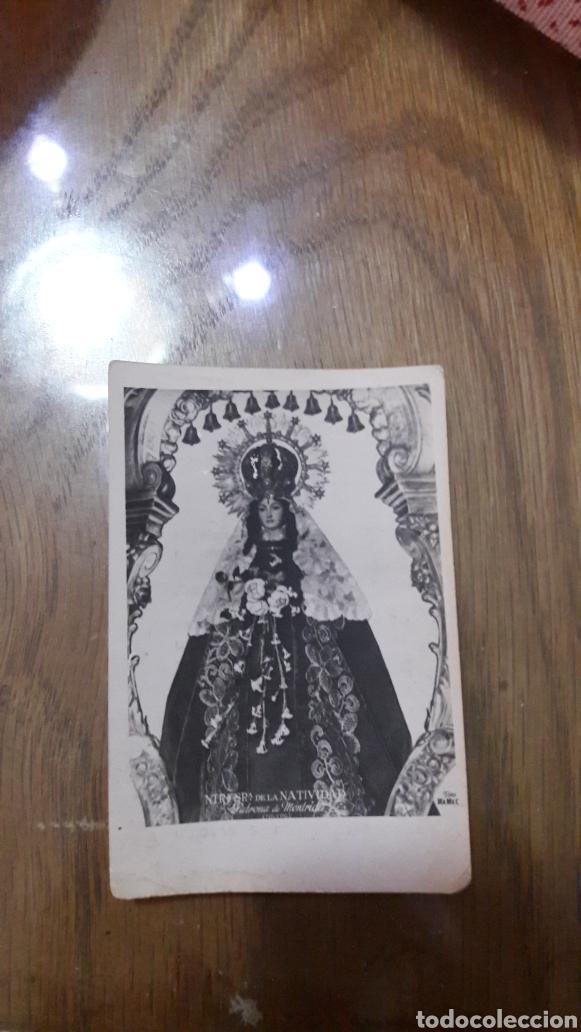 VIRGEN DE LA NATIVIDAD DE MENTRIDA 1954-TOLEDO (Postales - Postales Temáticas - Religiosas y Recordatorios)