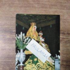 Postales: MFF.- TARJETA DE LA INAUGURACION DE LA CAFETERIA, CHOCOLATERIA Y APARTAMEMTOS VIRGEN DE LOS REYES. Lote 179072455
