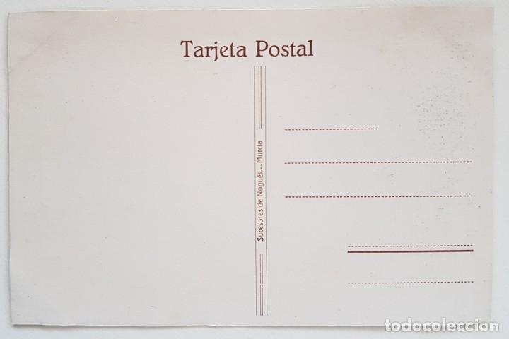 Postales: POSTAL ORACIÓN DEL HUERTO. SALCILLO - ED. SUCESORES DE NOGUES, MURCIA. SIN CIRCULAR - Foto 2 - 179093452