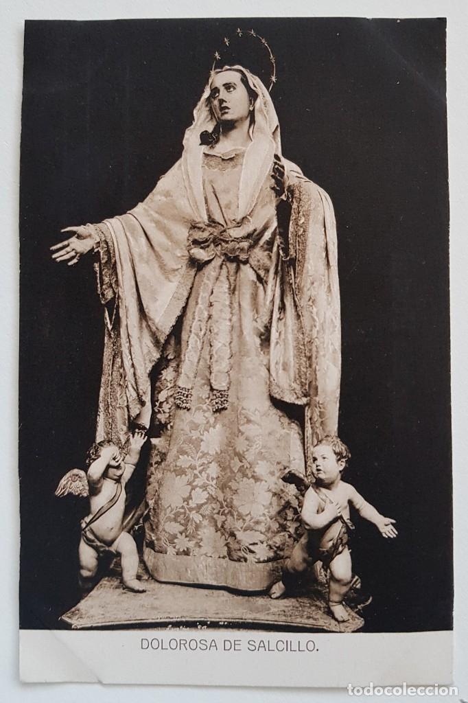 POSTAL DOLOROSA DE SALCILLO - ED. SUCESORES DE NOGUÉS, MURCIA. SIN CIRCULAR (Postales - Postales Temáticas - Religiosas y Recordatorios)