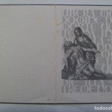 Postales: RECORDATORIO DE SEÑORA VIUDA FALLECIDA EN 1969. Lote 179205657