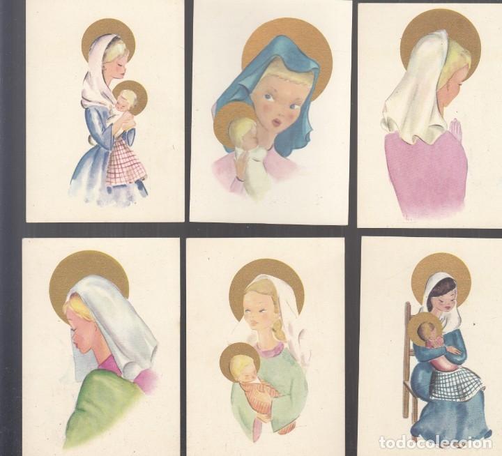 Postales: LOTE 21 ESTAMPAS (10 DIFERENTES), 9,5x7 cm. Buena conservación. - Foto 4 - 179249377