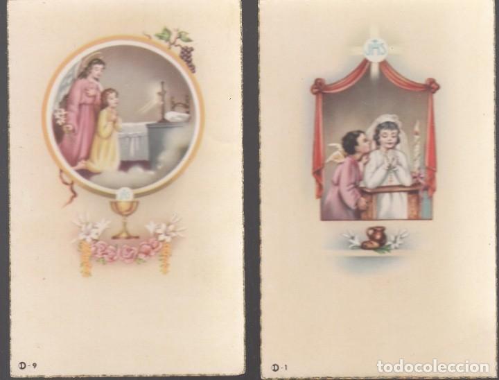 Postales: 30 estampas (3 juegos de 10 diferentes). Buena conservación. Cantos dorados. - Foto 7 - 179250938