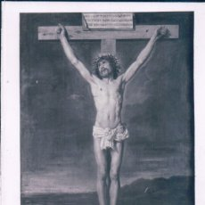 Postales: POSTAL CRISTO EN LA CRUZ - MUSEO DEL PRADO - VELAZQUEZ. Lote 179254976