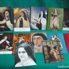 Postales: SANTA TERESA DE JESUS. TERESA DE AVILA. 12 POSTALES.. Lote 179382196
