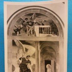 Postales: CASTELL DEL REMEY (LÉRIDA). SANTUARIO DE LA VIRGEN DEL REMEY. ALTAR DE LA ANUNCIACIÓN. NUEVA. Lote 179390626