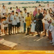 Postales: DOMINGO DE RAMOS (CAMPO AROMA). SERIE CAMINOS DE MISIÓN. MIGUEL FRITZ OMI. NUEVA. Lote 179393012