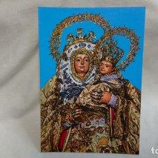Postales: ANTIGUA POSTAL RELIGIOSA VIRGEN NUESTRA SEÑORA DEL PINO . Lote 179929611