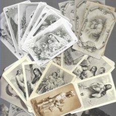 Postales: 100 ESTAMPAS ANTIGUAS * BLANCO & NEGRO ( DIFERENTES ( 10 ). Lote 180072105