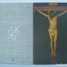 Postales: ESTAMPA RECORDATORIO DE LA MUERTE DE RELIGIOSA TERCIARIA SERVITA, MADRID 1990. Lote 180143841