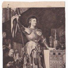 Postales: ANTIGUA ESTAMPA Ò RECORTE - SAINTE JEANNE D'ARC - PROCUPE GENERALE PARÍS 252. Lote 180160737