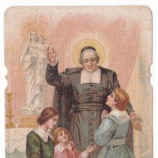 Postales: ANTIGUA ESTAMPA TROQUELADA - SAN JUAN BAUTISTA DE LA SALLE - ESCUELAS CRISTIANAS . Lote 180160877