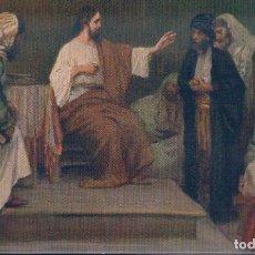Postales: POSTAL JESUS EN LA SINOGOGA DE NAZARETH - PALETTE MUNICH V. Lote 180199865