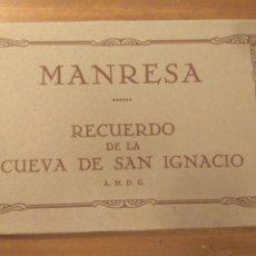 Postales: MANRESA. RECUERDO DE LA CUEVA DE SAN IGNACIO. FUNDA CON 26 POSTALES. HAY 23, FALTAN 2, 7, 15. MUMBRÚ. Lote 180210482