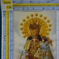 Postales: POSTAL RELIGIOSA SEMANA SANTA. AÑOS 50. VIRGEN DE LOS DESAMPARADOS DE VALENCIA. 700. Lote 180404790