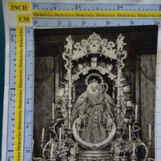 Postales: POSTAL RELIGIOSA SEMANA SANTA. AÑO 1960. NUESTRA SEÑORA DEL PINO, GRAN CANARIA. 704. Lote 180406001