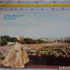 Postales: POSTAL RELIGIOSA SEMANA SANTA. VISITA DE JUAN PABLO II A LISBOA, PORTUGAL. 707. Lote 180406265
