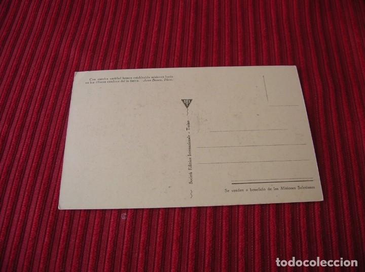 Postales: Antigua postal.Misiones Salesianas - Tanjore .India, - Foto 2 - 180419140
