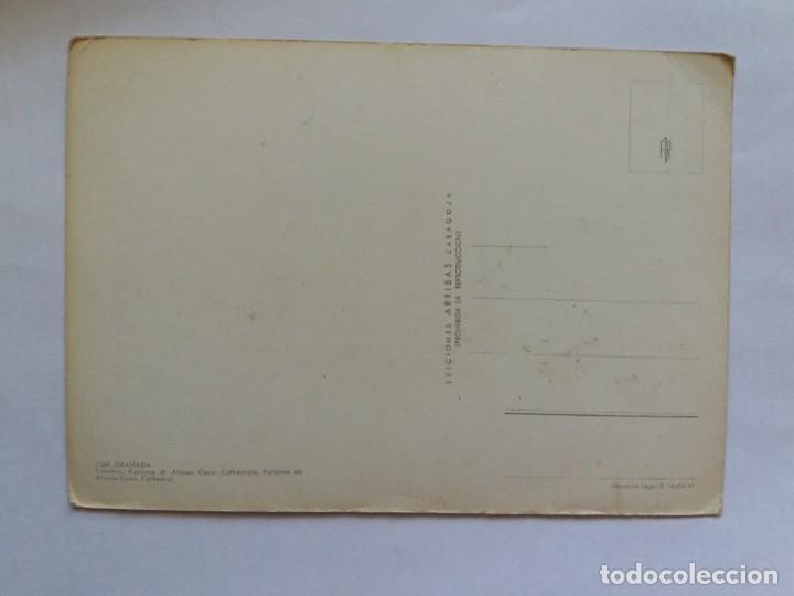 Postales: TARJETA POSTAL - GRANADA - CATEDRAL - PURÍSIMA DE ALONSO CANO - Foto 2 - 180930198