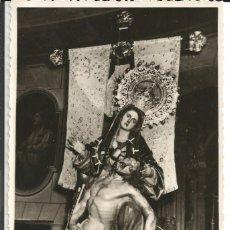 Postales: FOTOGRAFIA VIRGEN DE LA CARIDAD, SEMANA SANTA CARTAGENA, - FOTO SAEZ - (13,5X8,5 CM). Lote 181089670