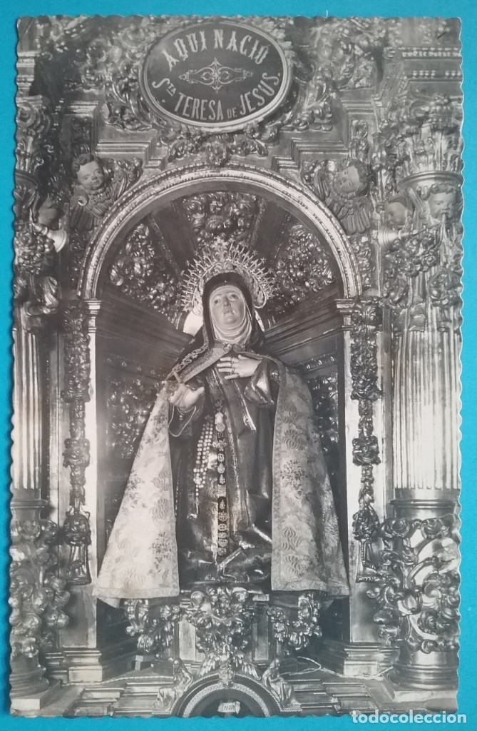 AVILA SANTA TERESA POSTAL FOTOGRÁFICA (Postales - Postales Temáticas - Religiosas y Recordatorios)