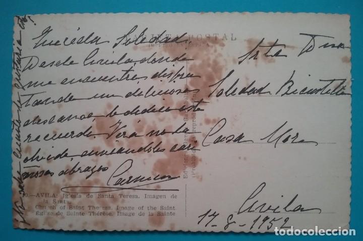 Postales: AVILA SANTA TERESA POSTAL FOTOGRÁFICA - Foto 2 - 181133003