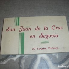 Postales: LOTE POSTALES SAN JUAN DE LA CRUZ EN SEGOVIA. Lote 181147963