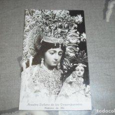 Postales: POSTAL NUESTRA SEÑORA DESAMPARADOS PATRONA IBI ALICANTE. Lote 181148051