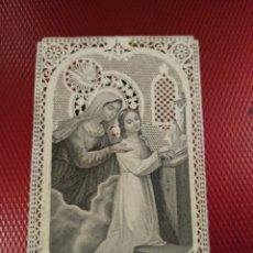 Postales: ESTAMPA CALADA O DE PUNTILLA. LA INSPIRACIÓN INTERIOR. PENA Y SACANELL 2005 BARCELONA . Lote 181451631