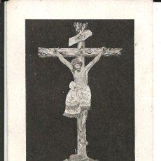 Postales: ESTAMPA *SANTISIMO CRISTO DE LA SALUD* SE VENERA EN ESPINARDO (MURCIA). Lote 181522150