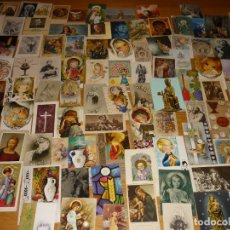 Postales: LOTE 100 ESTAMPAS, RECORDATORIOS RELIGIOSOS (Nº 4). Lote 178622618
