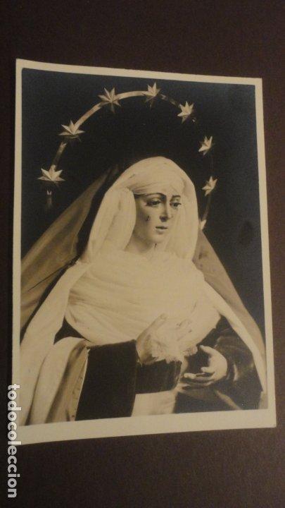 RECUERDO SOLEMNE SEPTENARIO.VIRGEN MACARENA.SEVILLA 1958 FOTOGRAFICA (Postales - Postales Temáticas - Religiosas y Recordatorios)