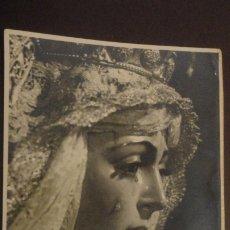 Postales: RECUERDO SOLEMNE SEPTENARIO.VIRGEN MACARENA.FOTO ARENAS.SEVILLA 1953. Lote 182309776