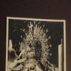 Postales: RECUERDO SOLEMNE SEPTENARIO VIRGEN MACARENA SEVILLA 1955. FOTO HARETON. Lote 182311875