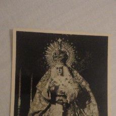 Postales: RECUERDO PROTESTACION DE FE.VIRGEN MACARENA.FOTO HARETON SEVILLA 1956. Lote 182323366