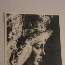 Postales: RECUERDO SEPTENARIO DOLOROSO.VIRGEN MACARENA.SEVILLA 1969 FOTOGRAFICA. Lote 182323477