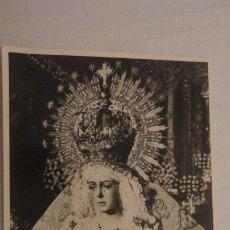 Postales: RECUERDO SEPTENARIO DOLOROSO.VIRGEN MACARENA.SEVILLA 1968 FOTOGRAFICA. Lote 182323533