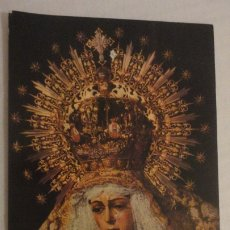 Postales: RECUERDO SOLEMNE SEPTENARIO.VIRGEN MACARENA SEVILLA 1959. Lote 182323720