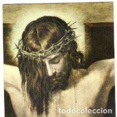 Postales: -47662 POSTAL RELIGIOSA JESUS CRUCIFICADO, PRECIOSA PINTURA, CRUCIFICADO. Lote 182969206