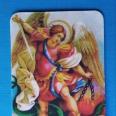 Postales: ESTAMPA RELIGIOSA ARCÁNGEL SAN MIGUEL. Lote 182972345