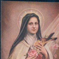 Postales: POSTAL SANTA TERESA DEL NIÑO JESUS - STE THERESE DE L'ENFANT JESUS. Lote 183818150