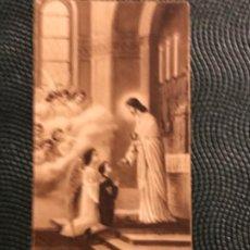 Postales: IGLESIA DE LAS CALATRAVAS MADRID RECUERDO PRIMERA COMUNION 1931 BUEN ESTADO . Lote 183936277