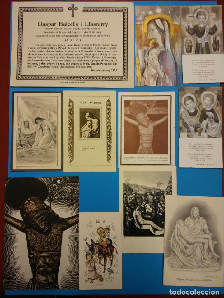 Postales: LOTE RECORDATORIOS RELIGIOSOS - Foto 2 - 184011042