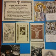 Postales: LOTE RECORDATORIOS RELIGIOSOS. Lote 184011042