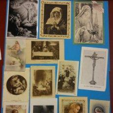 Postales: LOTE RECORDATORIOS RELIGIOSOS. Lote 184011082