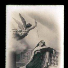 Postales: POSTAL RELIGIOSA DE AVILA: SANTA TERESA DE JESUS (ED.FOTOGRAFICA). Lote 184027247