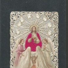 Postales: ESTAMPA ANTIGUA TROQUELADA-VER REVERSO-(64.633). Lote 184052381