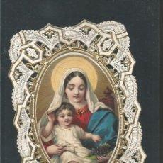 Postales: ESTAMPA ANTIGUA TROQUELADA-VER REVERSO-(64.634). Lote 184052427