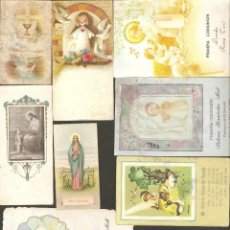 Postales: LOTE 8 ESTAMPAS RELIGIOSAS. Lote 184407233