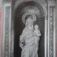 Postales: CASTILLO DE BALSERENY (BARCELONA) POSTAL VIRGEN DEL CASTILLO.. Lote 184779865